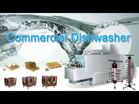 Automatic Restaurant Commercial Dishwasher  (plate, bowl, cup)