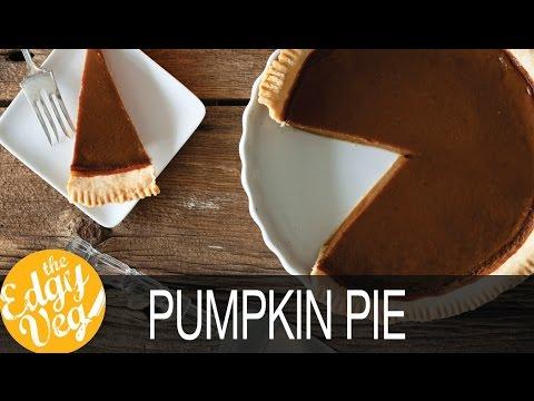 Homemade Vegan Pumpkin Pie for the Holidays | Healthy Pie Recipes | Vegans Unite | The Edgy Veg