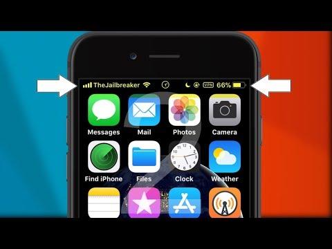 5 Statusbar Tweaks for iOS 11 - 11.1.2 [PART 2]