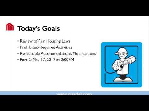 Fair Housing I - 3/8/2017