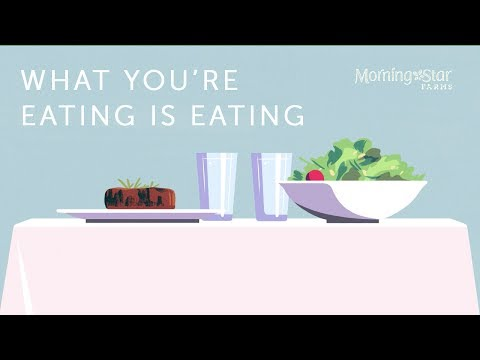 #WayToVeg | What You're Eating is Eating