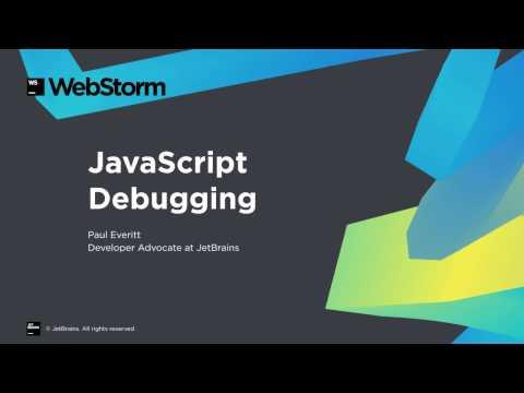 Debugging JavaScript in WebStorm