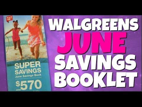 Walgreens JUNE Savings Booklet Preview 2018