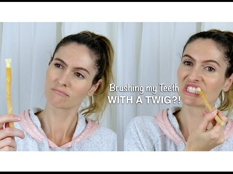 Brushing My Teeth With A Twig!? Twig Brush Unboxing & First Impressions
