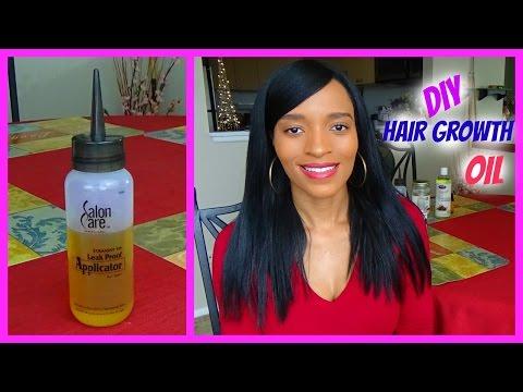 DIY Hair Growth Oil for Long Healthy Relaxed Hair