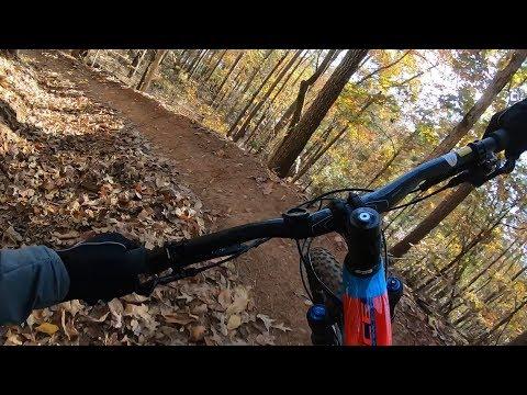 Bike Testing Trip - Riding Blankets Creek on the Trance 27.5