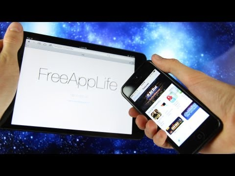 FreeAppLife iOS 6.1.3 How To Get Paid Apps Free Without Jailbreak Cydia iPhone, iPad & iPod touch