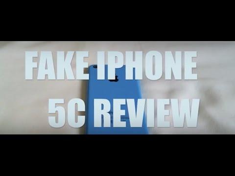 FAKE CLONE iPhone 5C In Depth Review - Replica - Knock Off