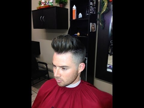 How To Cut A Modern Pompadour Haircut | Step by Step Tutorial