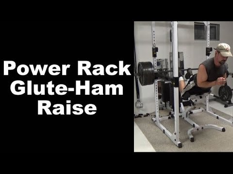 Rig up a Glute-Ham Raise bench in the power rack