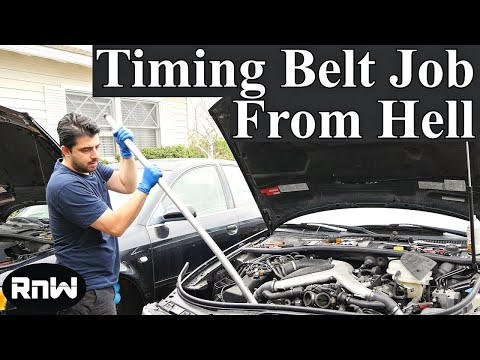 Bi-Turbo Audi Timing Belt Replacement From Hell