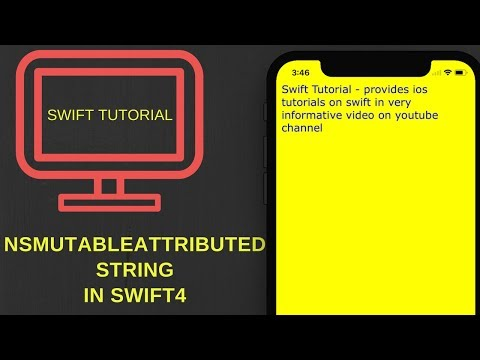 NSMutableAttributedString in swift 4  (Xcode 9.2)