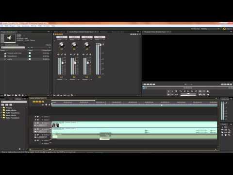 How To. Audio Sync in Adobe Premiere Pro CS3, CS4 & CS5