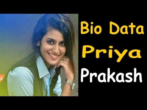 PRIYA PRAKASH most viral cute video on social media/ valentine week | Who is priya prakash varrier ?