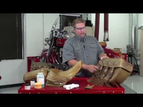Tan Leather Care - Indian Motorcycle