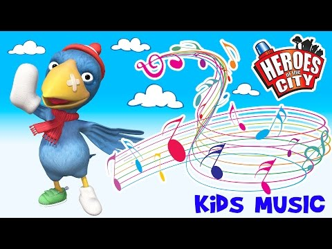 Kids music – The Calamity Crow Song – Heroes of the City