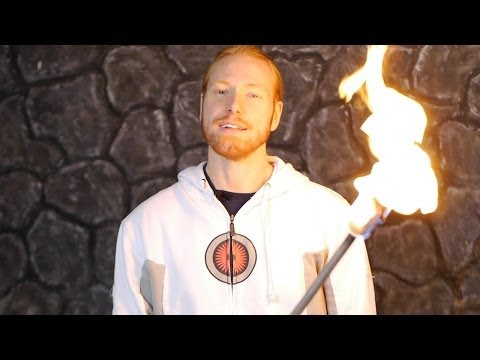Nerd It Up — How to make real torches for movies and films