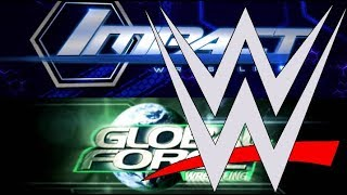 WWE 2017 Buying GFW Impact Wrestling Anthem Ready To Sell GFW Latest WWE NEWS On Roman Reigns