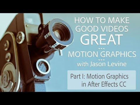 How to Make Great Videos (Part 1) - Motion Graphics in After Effects CC | Adobe Creative Cloud