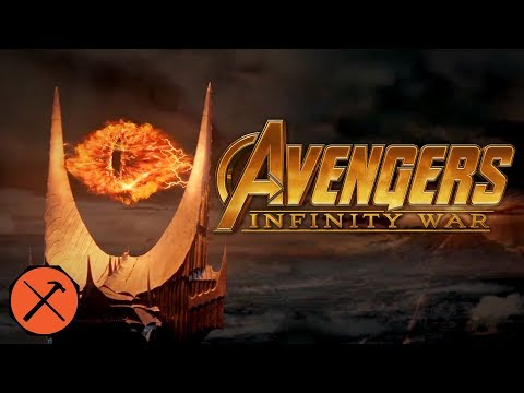 The Lord Of The Rings Trailer (Avengers: Infinity War Style)
