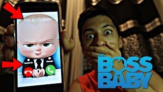 CALLING THE BOSS BABY *OMG HE ACTUALLY ANSWERED*