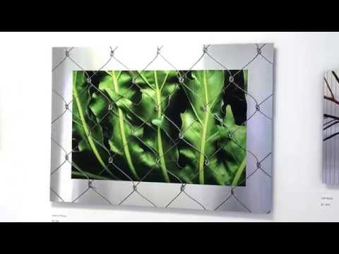 Leaf In Prison: Ink on Metal by Jed Malitz