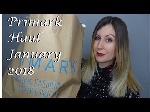 Primark Haul January 2018