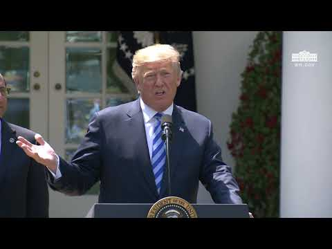 President Trump Gives Remarks on Lowering Drug Prices