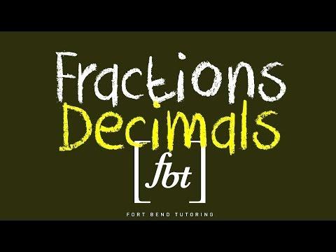Converting Fractions to Decimals [fbt]
