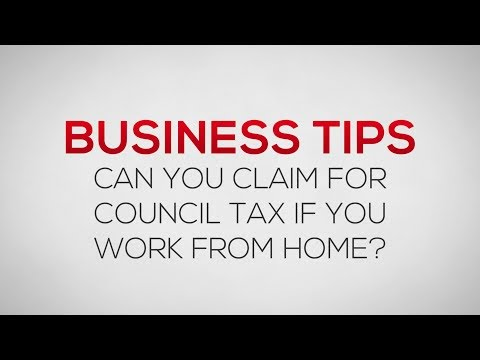 How to claim Council Tax as an expense if you work from home | Business Tips