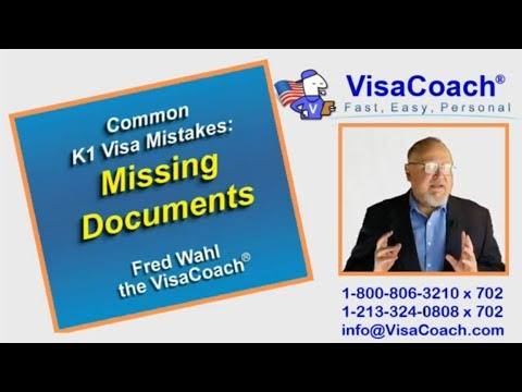 K1 Fiance Visa Mistakes: Submitting Documents after the Interview