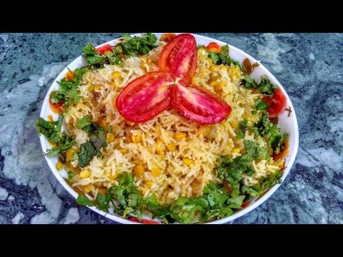 Chana Dal Pulao Recipe In Hindi By Indian Food Made Easy