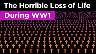 The Loss of Life in WWI Visualized