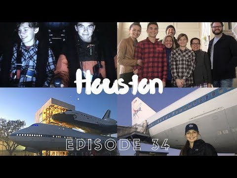 EXPLORING HOUSTON AND NASA'S SPACE CENTER // EFRT EP 34