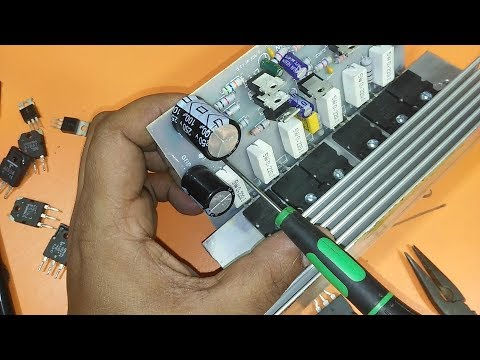 how to make an amplifier using 2SC5200 and 2SA1943 with Diagram PCB