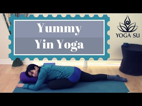 Yin Yoga Class for Healthy Happy Hips (No Music)
