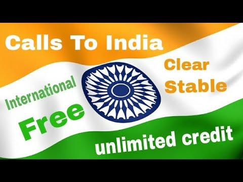 India Free Call Completely FREE, Clear & Stable Calling, Unlimited Call Credits