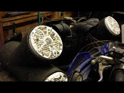 Custom Wetsounds and Kicker Speaker Tubes for ATVs & UTVs