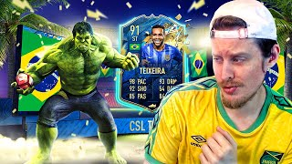 THE MOST META CARD?! 91 TEAM OF THE SEASON TEIXEIRA PLAYER REVIEW! FIFA 20 Ultimate Team