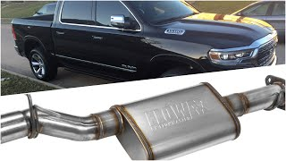 2009-19 Classic RAM 1500 5 7L Hemi - FlowFX Cat-back Exhaust