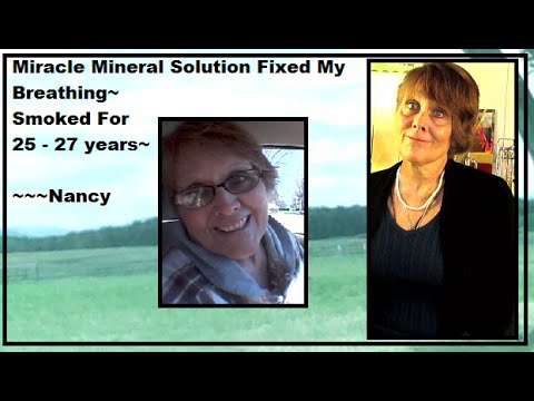 Lungs ~ Smoking ~ Miracle Mineral Solution ~ Walking And Talking ~~~Nancy