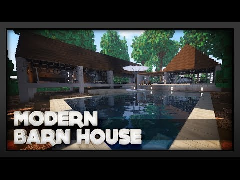 Minecraft - Modern Barn Conversion