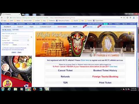 How can i cancel a single person in a irctc train ticket?
