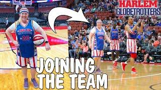 Download Mom Joins Professional Basketball Team - Playing on the Globetrotters!! Video