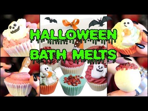 HALLOWEEN BATH MELTS - Brubaker's Cruelty Free Spooky Bath Products