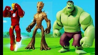 Все серии подряд без остановки про Халка, Железного Человека, Грута и Машинки Disney для детей