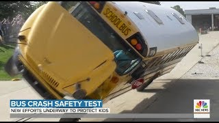 NBC Today Show - Bus Safety Crash Test