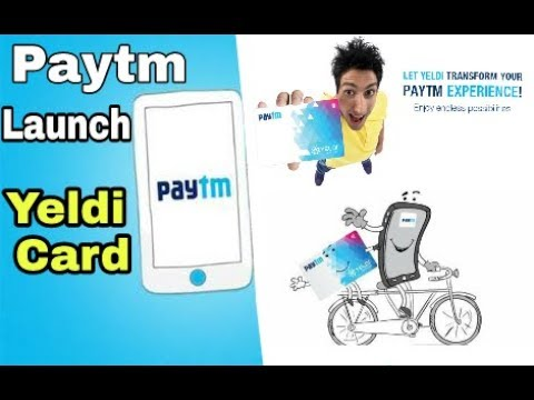 Paytm launch yeldi card || Tap card || Offline transation 0.5 second