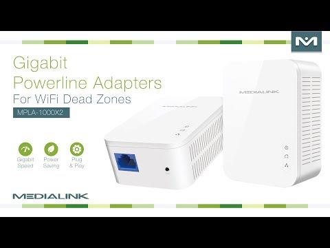 Medialink Powerline Adapters for WiFi Dead Zones