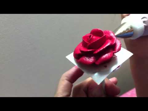 How to make a Wilton rose.